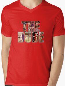 "The Big Lebowski ""The Dude"" Mens V-Neck T-Shirt"