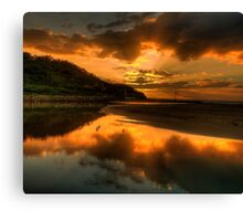 Golden Wedding - Narrabeen Lakes Entrance, Sydney - The HDR Experience Canvas Print