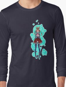 Bubbles and Hearts Long Sleeve T-Shirt