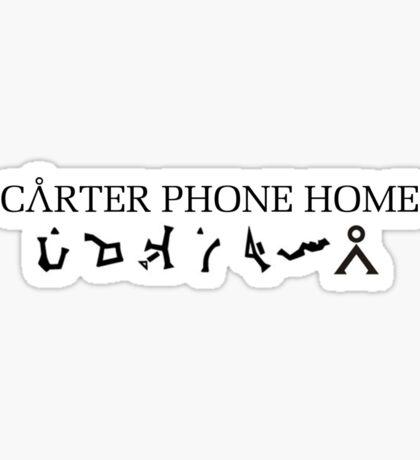 Stargate - Cater Phone Home Sticker