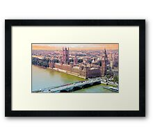 LONDON_View 109 Framed Print