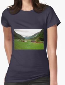 Rural Norway Womens Fitted T-Shirt