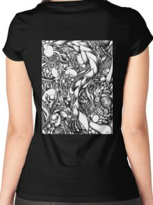 Doodle 1- Life Women's Fitted Scoop T-Shirt