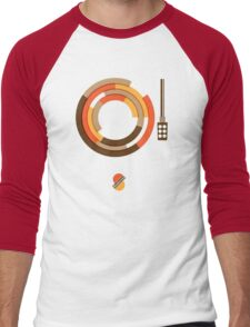 Modernist Vinyl Men's Baseball ¾ T-Shirt