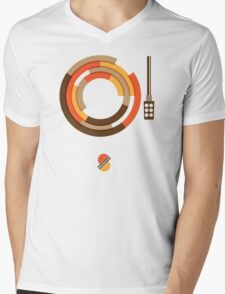 Modernist Vinyl Mens V-Neck T-Shirt