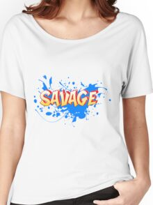 Savage Women's Relaxed Fit T-Shirt