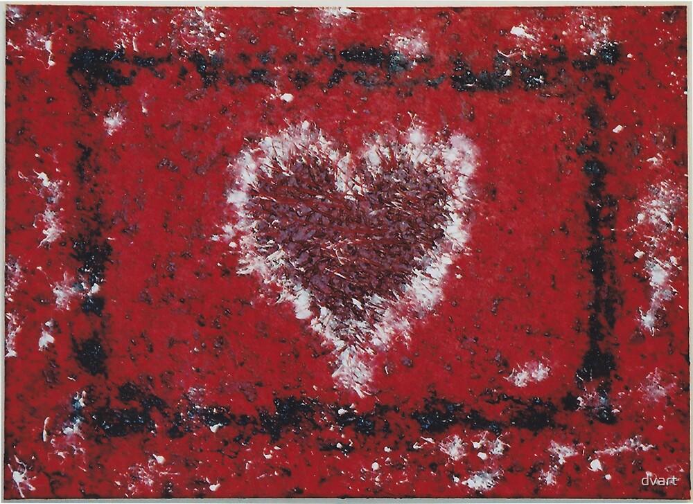 Framed Heart by dvart