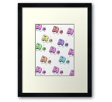 n64 colorfull Framed Print