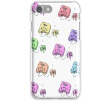n64 colorfull iPhone Case/Skin