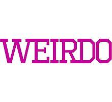 Team Weirdo Photographic Print