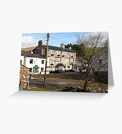 The Crown - Horton in Ribblesdale Greeting Card