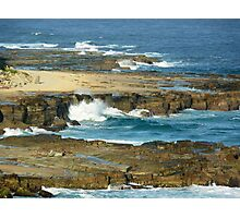 Bar Beach, NSW, Australia Photographic Print