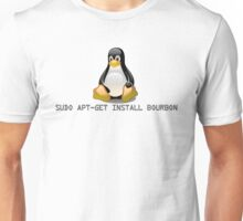 Linux - Get Install Bourbon Unisex T-Shirt