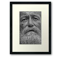 Phil the nomad Framed Print