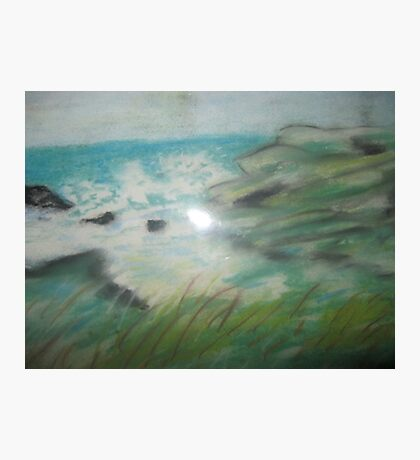 ocean view , beach,  Photographic Print