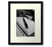 The pen speaks loudly Framed Print