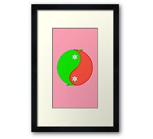 Sweet and Spicy Framed Print