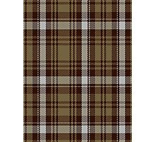 00412 Brown Watch Dress Tartan  Photographic Print