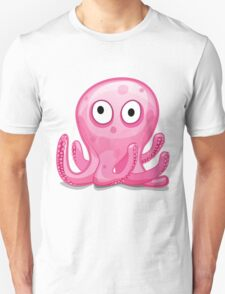 Cartoon Octopus Unisex T-Shirt