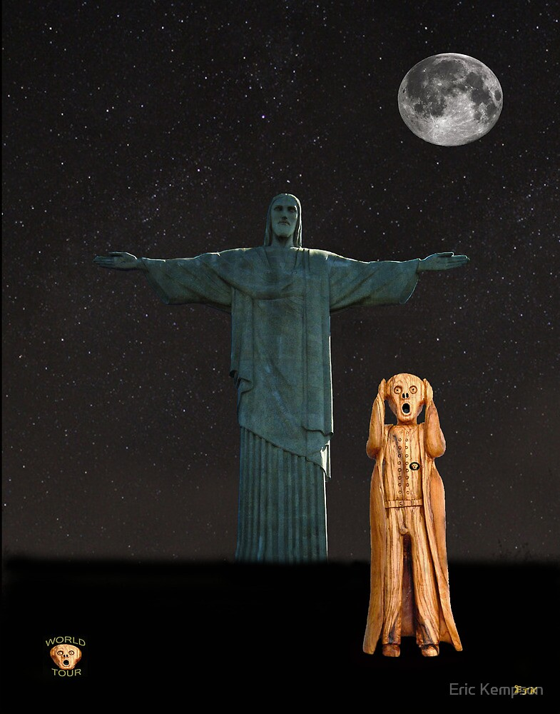 The Scream World Tour Rio by Eric Kempson