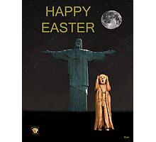 The Scream World Tour Rio Happy Easter Photographic Print