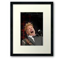 Jonny Rotton Framed Print