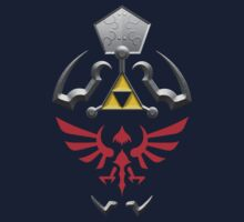 Twilight Princess Hylian Shield Kids Tee