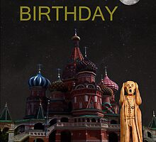 The Scream World Tour Moscow Happy birthday by Eric Kempson