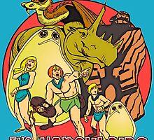 Retro Saturday Morning Cartoons HERCULOIDS any color by MaskedMarvel