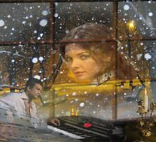 Snow falls by kindangel
