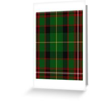 00413 George Brown Tartan Greeting Card