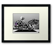 Yes, this is my world! Framed Print
