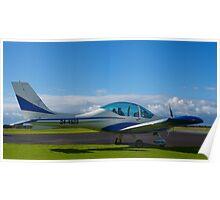 Texan Top Class LSA light aircraft, Tooradin Airport, Australia. Poster