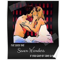 Seven Wonders - Aaron Tveit Poster