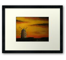 Ballycopeland Windmill,  Millisle,  Northern Ireland Framed Print
