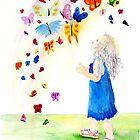 Maggie's Butterflies by Yvonne Carter