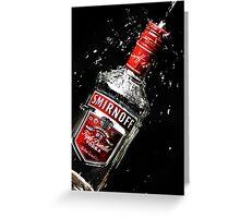 Smirnoff Splash Greeting Card