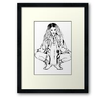 Tommy Genesis Framed Print