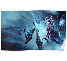 Frostblade Irelia - League of Legends Poster