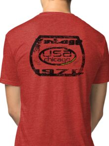 usa chicago by rogers bros Tri-blend T-Shirt