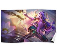 Order of the Lotus Irelia - League of Legends Poster