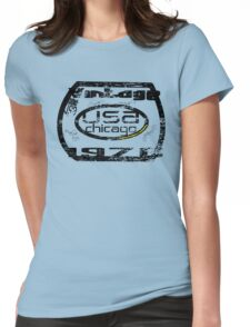 usa chicago by rogers bros Womens Fitted T-Shirt