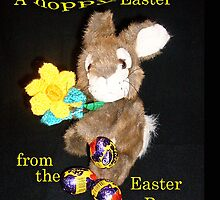 Hoppy Easter Card by missmoneypenny