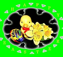 Happy Easter Frame by missmoneypenny