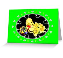 Happy Easter Frame Greeting Card