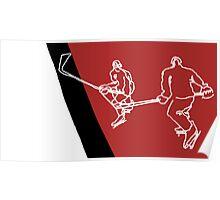 Blood Hockey Poster