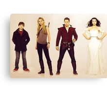 Once Upon A Time / Charmings Canvas Print