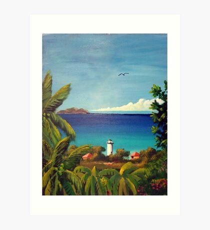 Rincon, Puerto Rico Light house Art Print