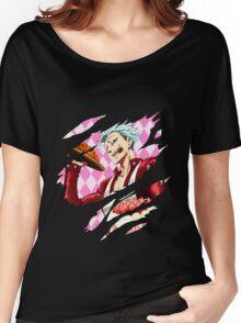 nanatsu no taizai seven deadly sins ban anime manga shirt Women's Relaxed Fit T-Shirt