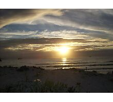 Sunset at Lundadno - Cape Town RSA Photographic Print